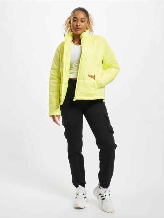 adidas Originals Kurtki pikowane Short zólty