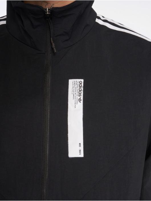 adidas originals Kurtki przejściowe Nmd Track Top czarny
