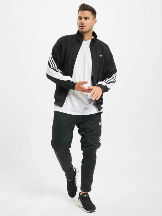 adidas Originals Kurtki przejściowe 3-Stripe Wrap czarny
