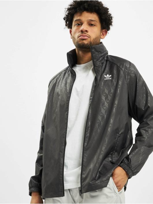 adidas Originals Kurtki przejściowe Mono Aop czarny