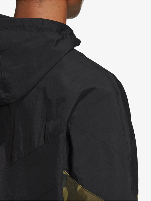 adidas Originals Kurtki przejściowe Camo czarny