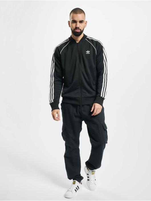 adidas Originals Kurtki przejściowe SST TT P czarny