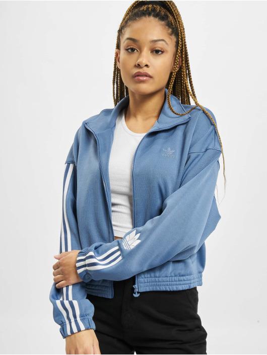 adidas Originals Kurtki przejściowe Track niebieski