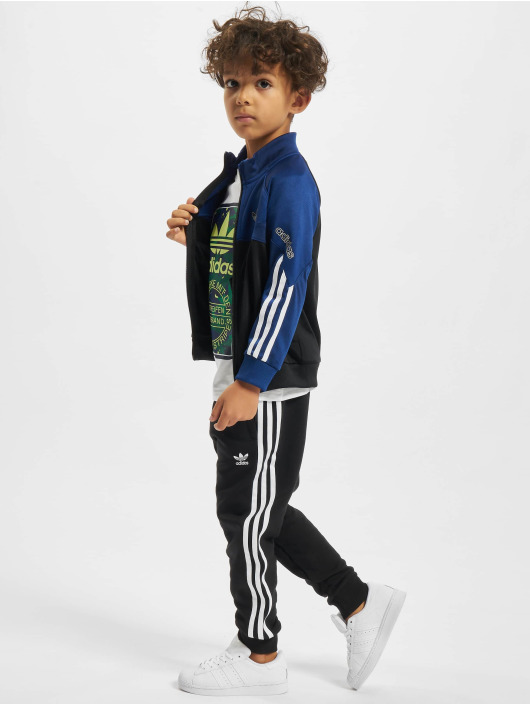 adidas Originals Kurtki przejściowe Trefoil niebieski