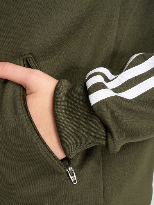 adidas originals Kurtki przejściowe Sst Tt Transition oliwkowy