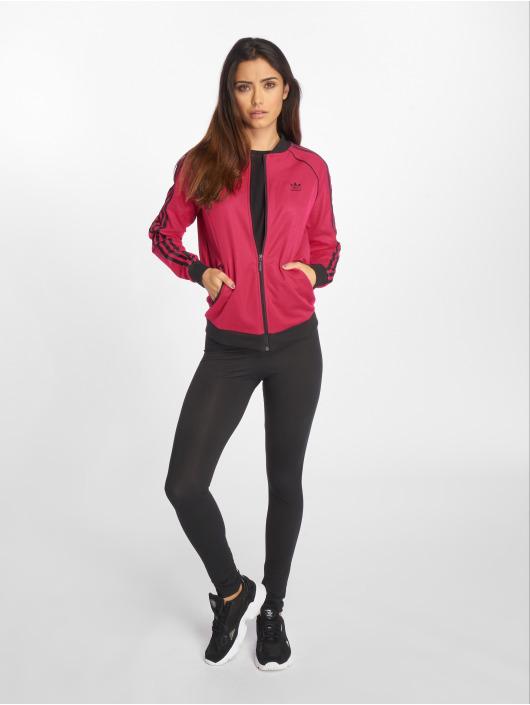 adidas originals Kurtki przejściowe LF Track pink