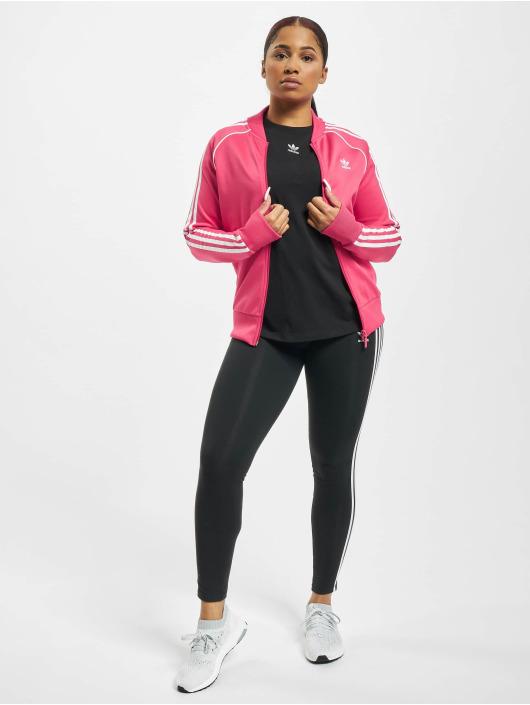 adidas Originals Kurtki przejściowe SST pink