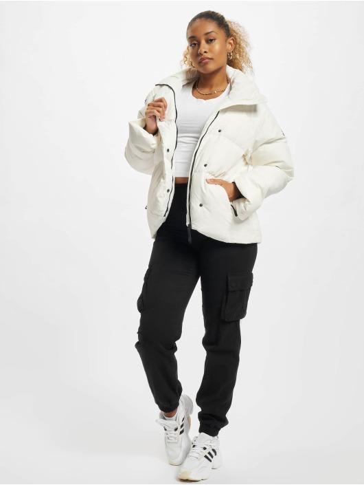 adidas Originals Kurtki zimowe Big Baffle Down bialy
