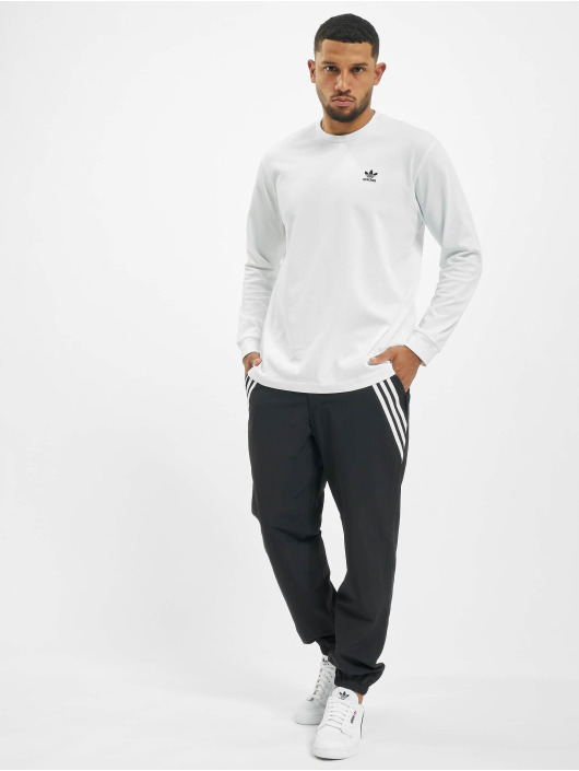 adidas Originals Langermet Back And Front Print Trefoill hvit