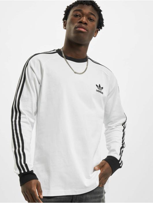 adidas Originals Langermet 3-Stripes hvit