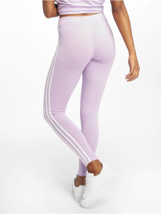 adidas Originals Legíny/Tregíny 3 Stripes fialová