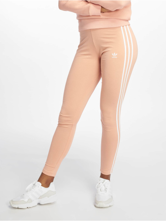 adidas originals Legíny/Tregíny 3 Stripes ružová