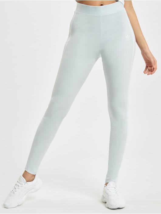 adidas Originals Legging 3 Stripes blau