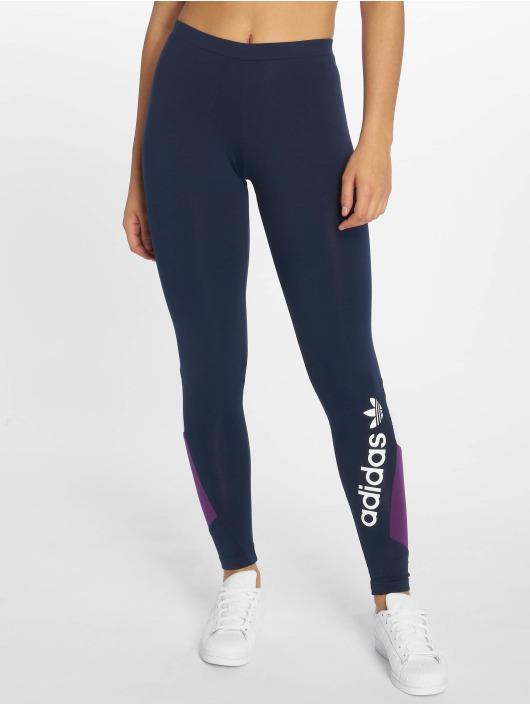 adidas originals Legging Colourblock blauw