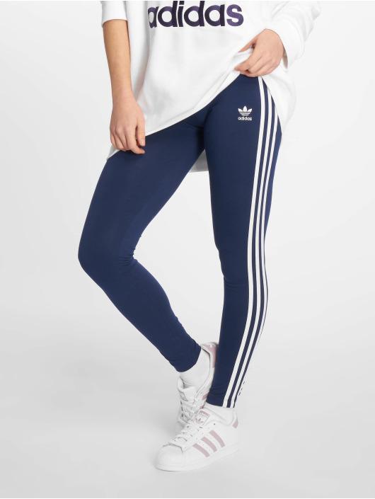... adidas originals Legging 3 Stripe bleu ... 4276e7b7163