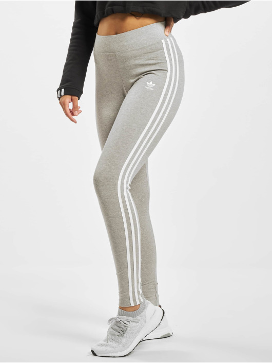 adidas Originals Legging 3-Stripes grau