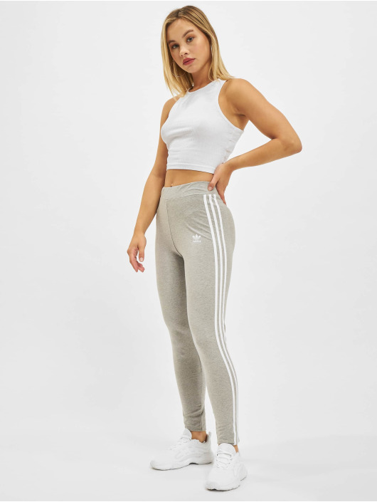 adidas Originals Legging 3 Stripes grijs