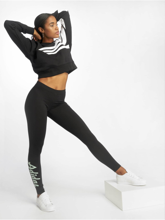 adidas originals Legging Logo schwarz