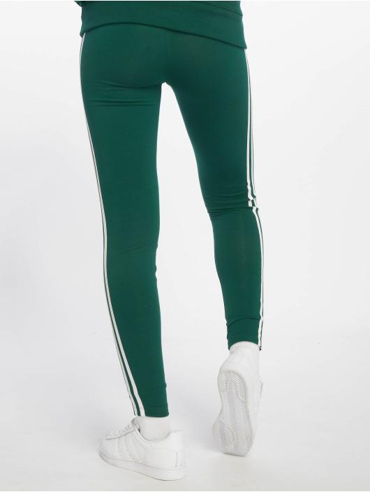 adidas originals Legging/Tregging 3 Stripes green