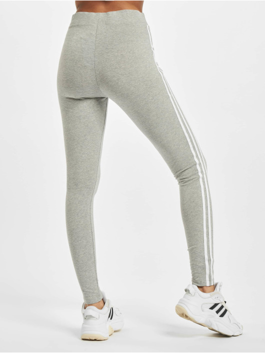 adidas Originals Legging/Tregging 3 Stripes gris