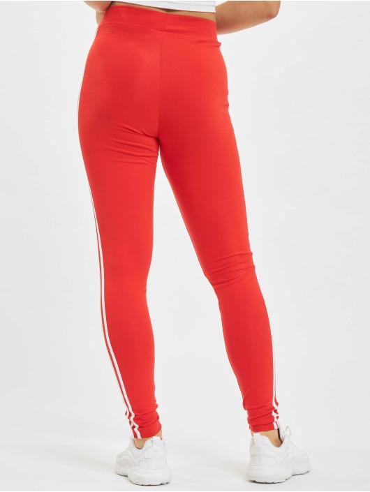 adidas Originals Legging/Tregging Originals 3 Stripes rojo
