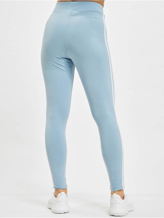 adidas Originals Leggings 3 Stripes blå