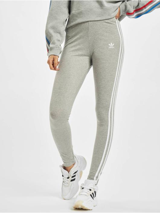 adidas Originals Leggings 3 Stripes grå