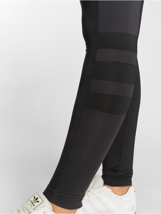 adidas originals Leggings/Treggings Stripes czarny