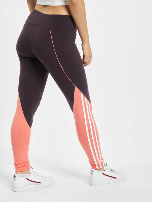 adidas Originals Leggings/Treggings OSR W fioletowy