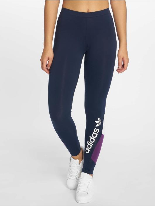 adidas originals Leggings/Treggings Colourblock niebieski