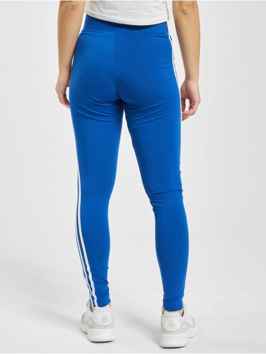 adidas Originals Leggings/Treggings 3-Stripes niebieski