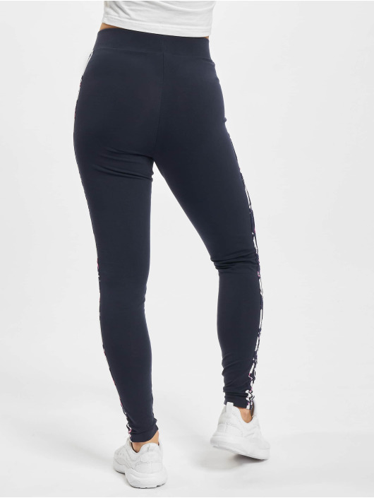adidas Originals Leggings/Treggings 3/4 niebieski