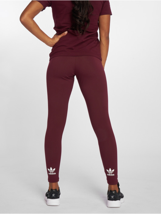 adidas Originals Leggings/Treggings Trefoil red