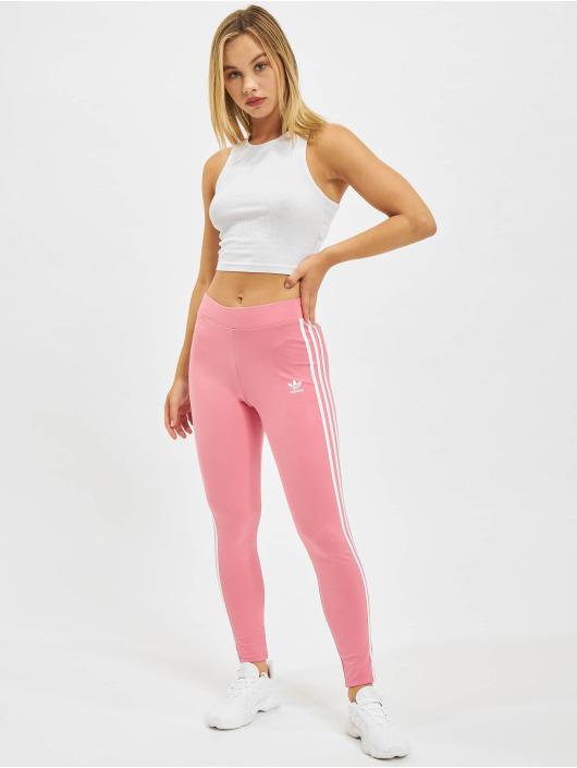 adidas Originals Leggings/Treggings 3 Stripes rózowy