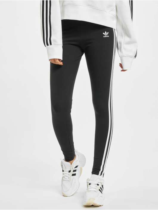 adidas Originals Leggings/Treggings 3 Stripes sort