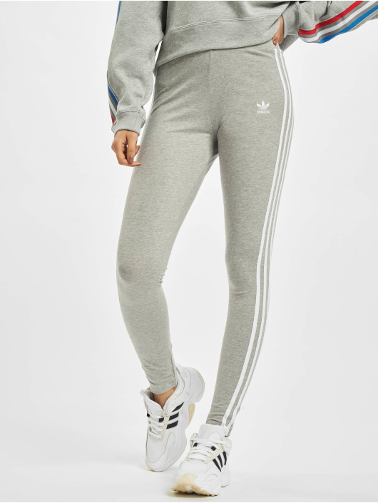 adidas Originals Leggings/Treggings 3 Stripes szary