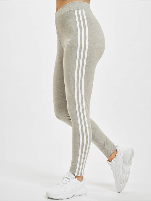 adidas Originals Leggings/Treggings 3 Stripes szary