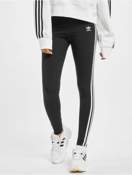 adidas Originals Leginy/Tregginy 3 Stripes čern