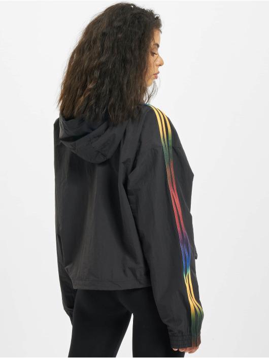 adidas Originals Lightweight Jacket Cropped Halfzip black