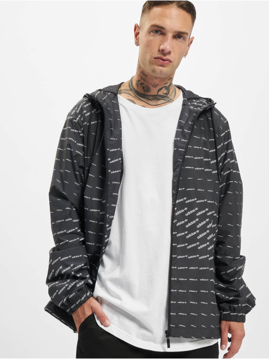adidas Originals Lightweight Jacket Mono WB black