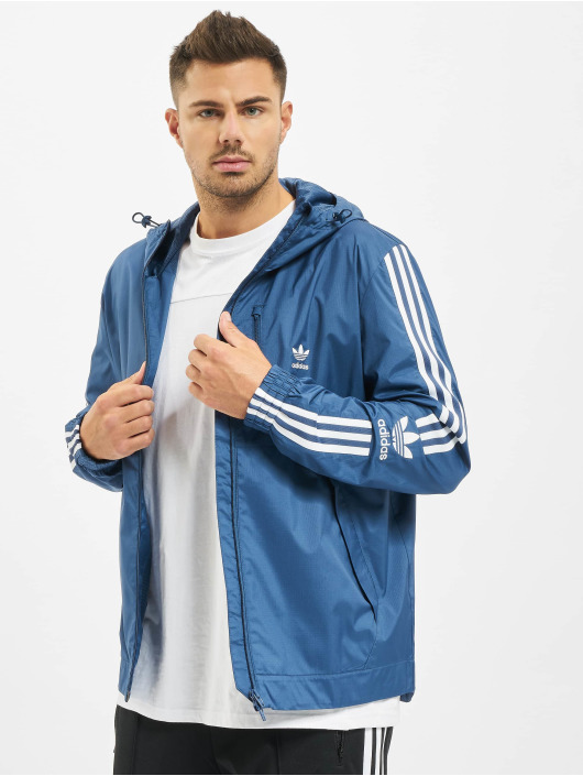 adidas Originals Lightweight Jacket Lock Up blue