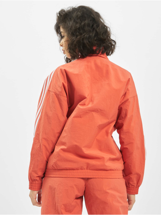 adidas Originals Lightweight Jacket Lock Up orange