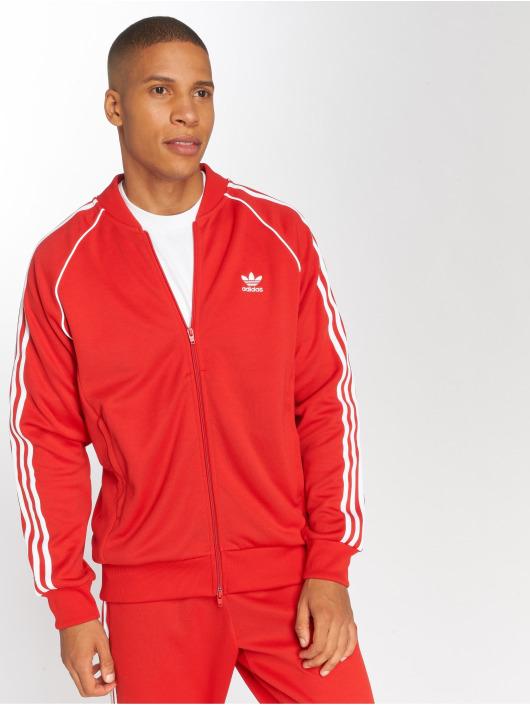 adidas originals Lightweight Jacket Sst Tt Transition red
