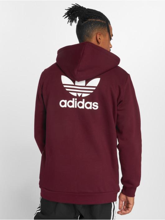 adidas originals Lightweight Jacket Trf Flc Hoodie red