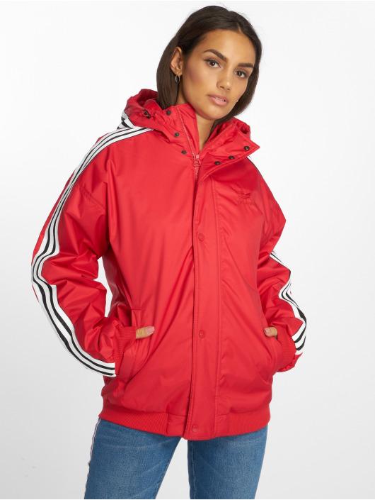 adidas originals Lightweight Jacket Sst red