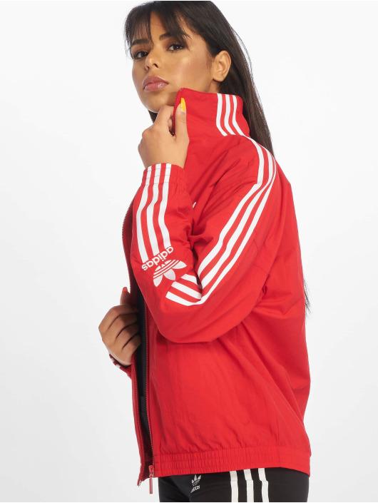 adidas Originals Lightweight Jacket Lock Up red