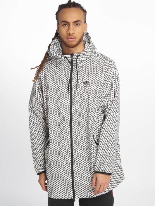 adidas originals Lightweight Jacket PLGN Grid white