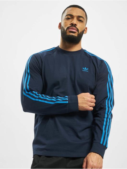 adidas Originals Longsleeve 3-Stripes blau