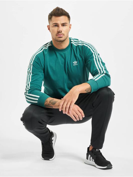 adidas Originals Longsleeve 3-Stripes grün