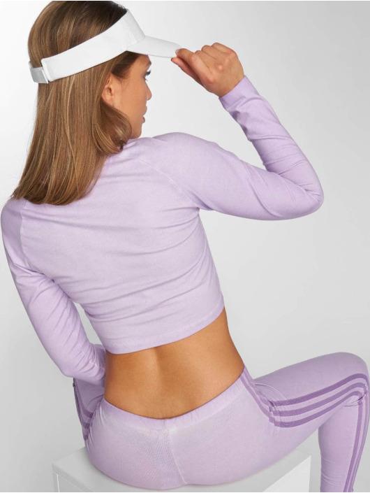 adidas Originals Longsleeve Crop purple